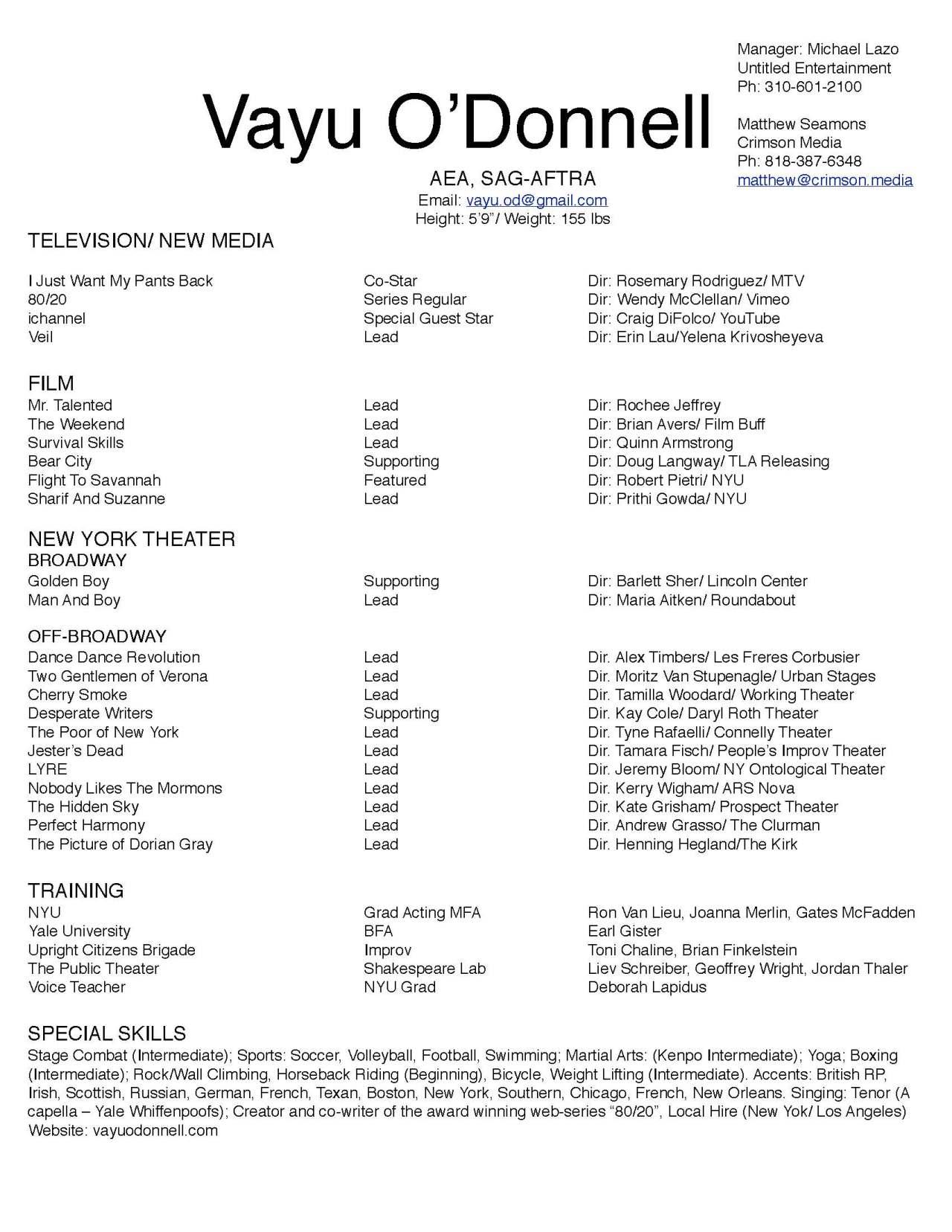 filmtvRESume 05-25-18 Vayu